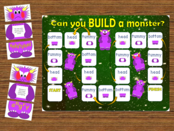 Build a Monster Game
