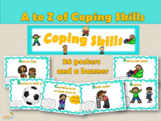 A to Z Coping Skills Posters
