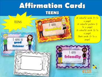Affirmation Cards for teens