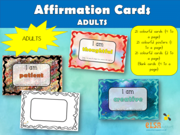 Affirmation Cards for Adults