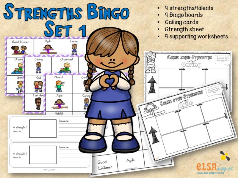 Strengths Bingo Set 1
