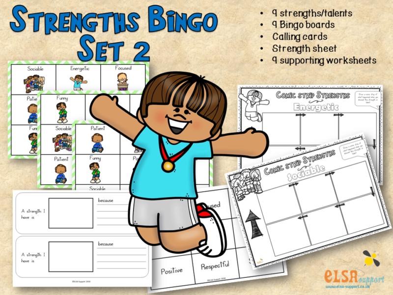 Strengths Bingo Set 2