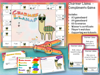 Chalmer Llama Compliments Game