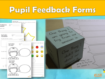 Pupil Feedback Forms