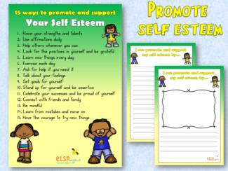 5 ways to promote self esteem