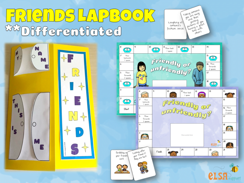 The Friends Lapbook