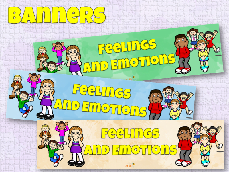 Feelings and Emotions Banners