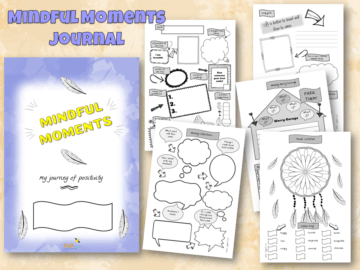 Mindful Moments Positives Journal