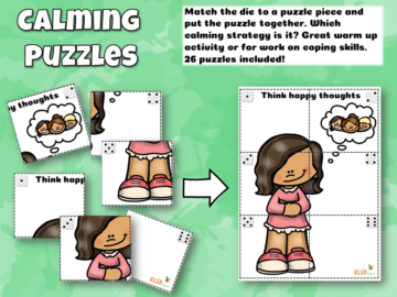 Calming puzzles pack