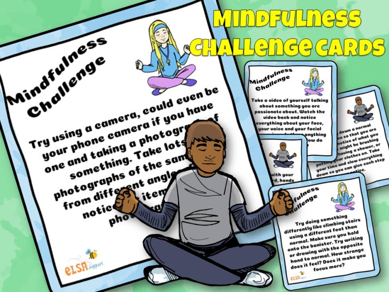 Mindfulness Challenge Cards