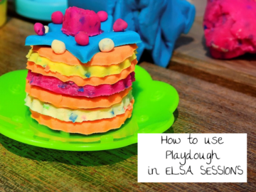 Playdoh social and emotional learning