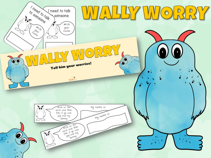 Wally Worry Monster