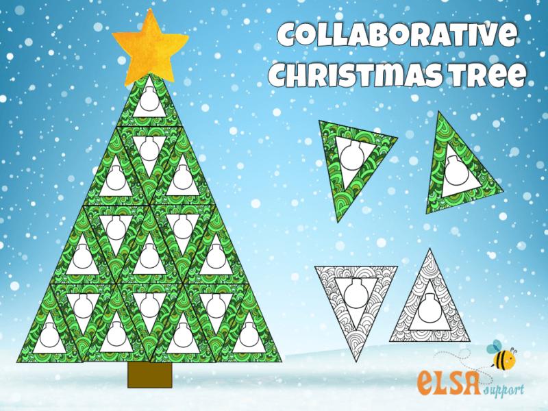Collaborative Christmas Tree