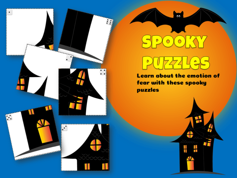 Spooky Puzzles Learn about the emotion of fear