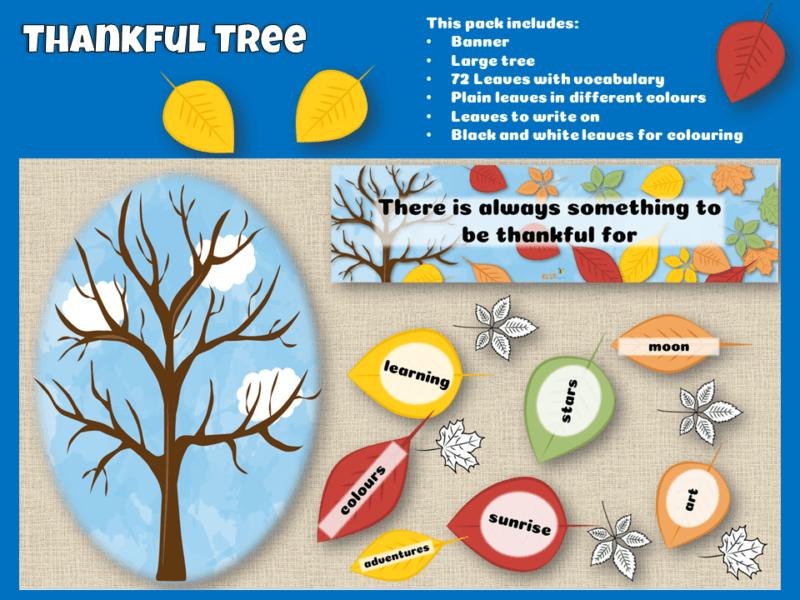 Thankful tree pack