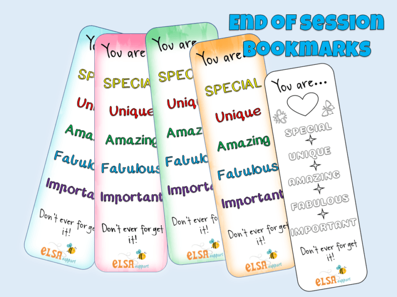 self esteem bookmarks