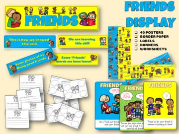 Friends display