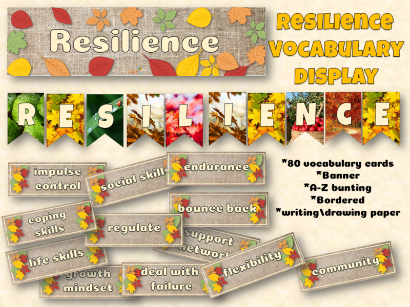Natural resilience display pack