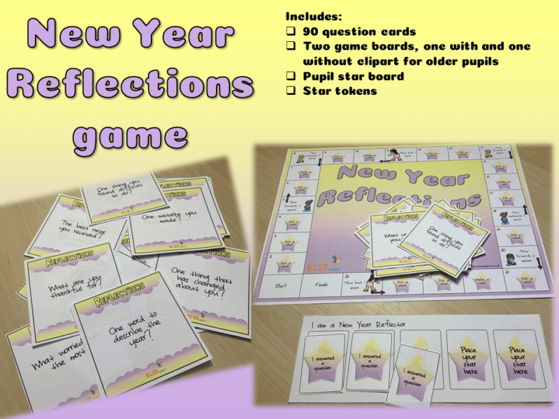 new year reflections game