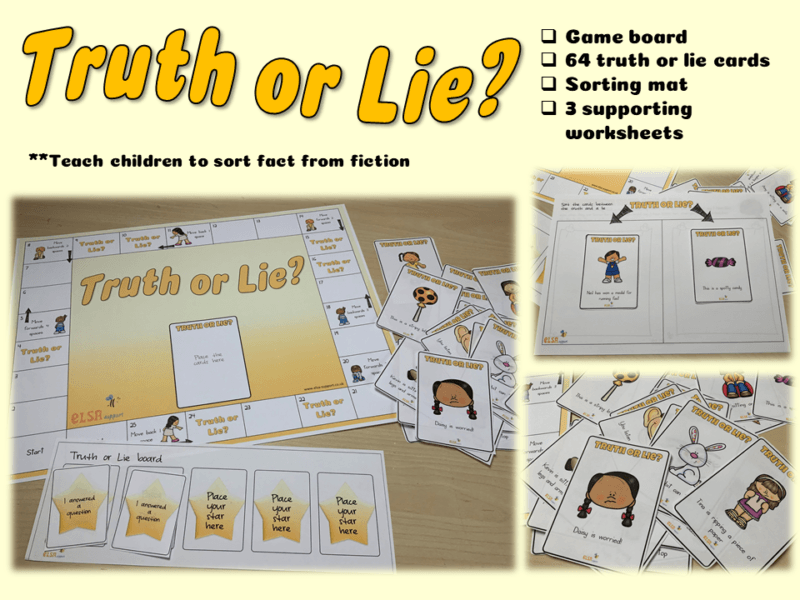 Truth or lie game