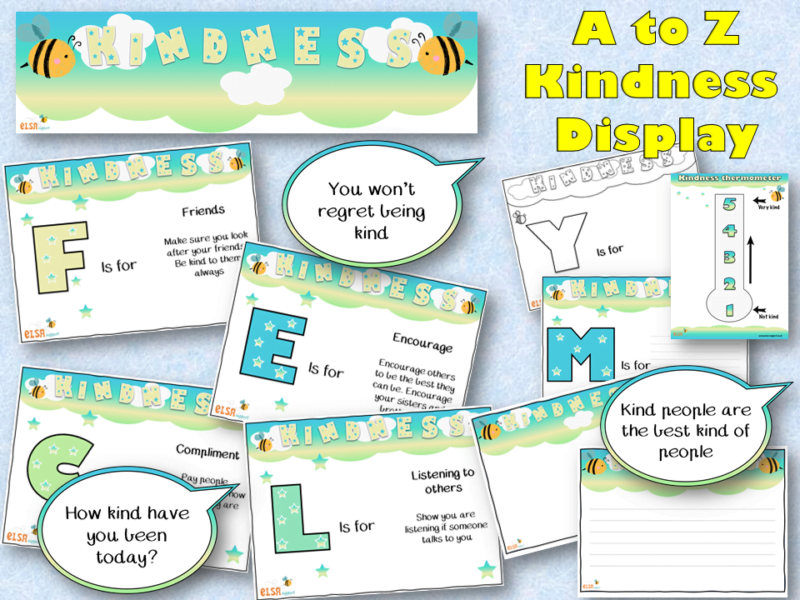 Kindness display pack