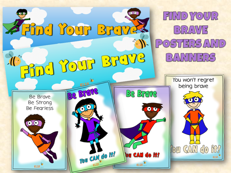 Find your brave banners