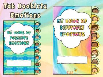 emotions tab booklets