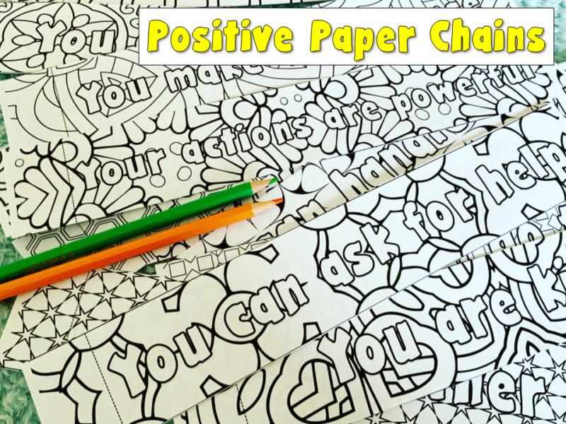 positive paper chains