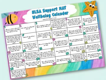 wellbeing calendar may