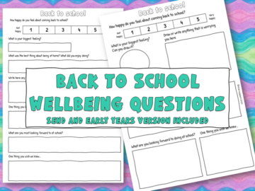 back to school wellbeing questionnaire