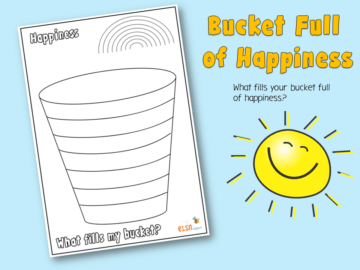 bucket full of happiness