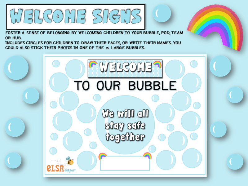 welcome to our bubble