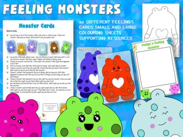 Feeling colour monsters