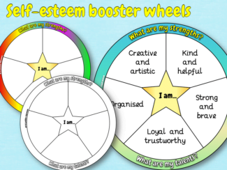 self esteem booster wheel
