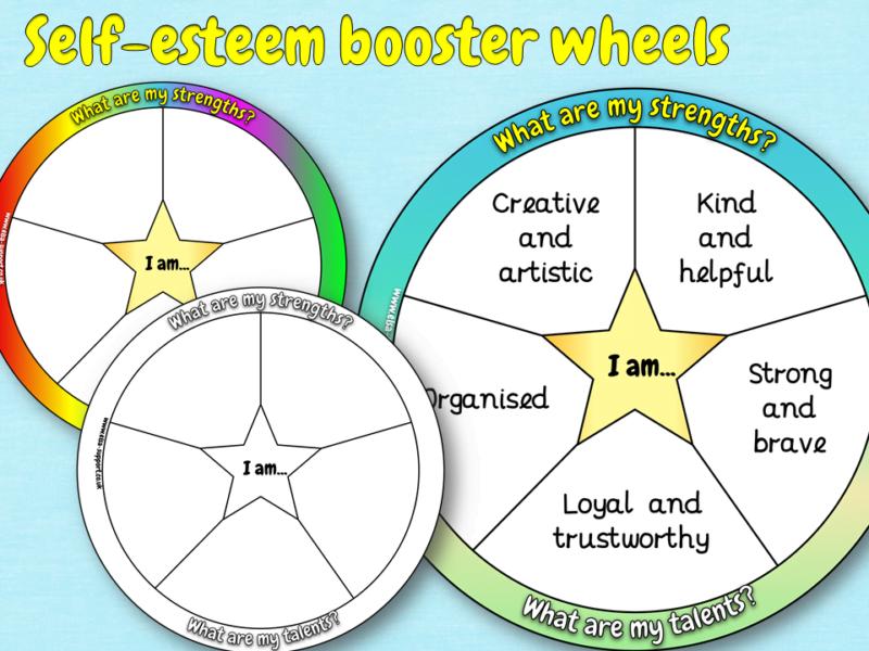self esteem booster wheel