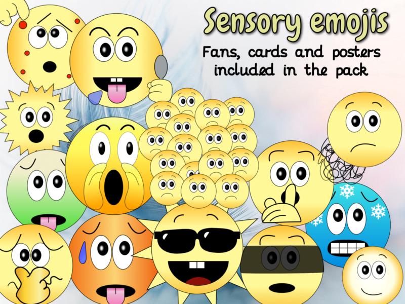 Sensory emojis