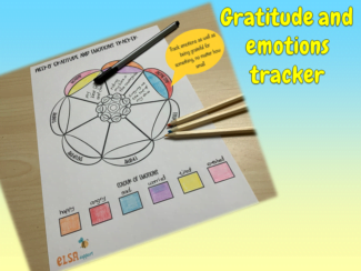 gratitude and emotions tracker