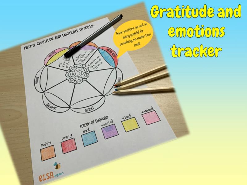 gratitude and emotions tracker