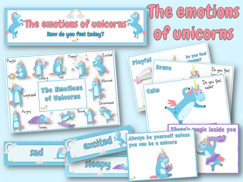 emotions of unicorns
