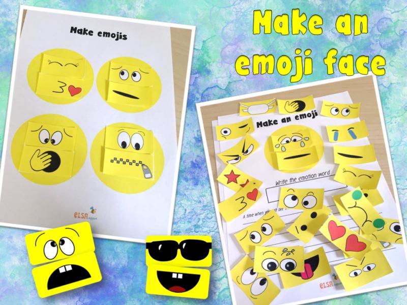Make an emoji face