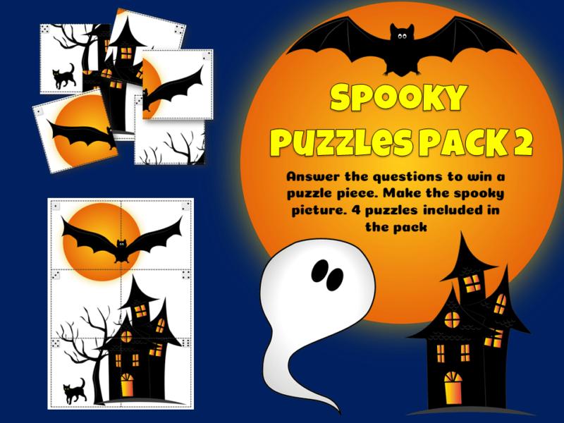 Halloween spooky puzzles