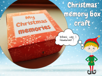 christmas memories box