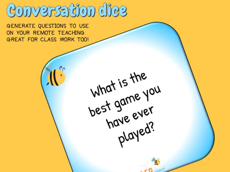conversation dice
