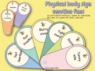 physical body sign emotion fans