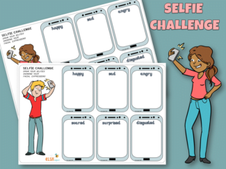 selfie emotion challenge