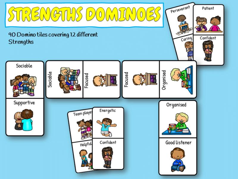 Strengths dominoes