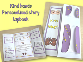 kind hands personalised story