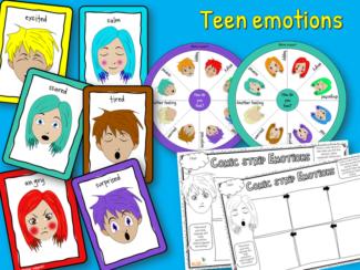 Teen emotions pack
