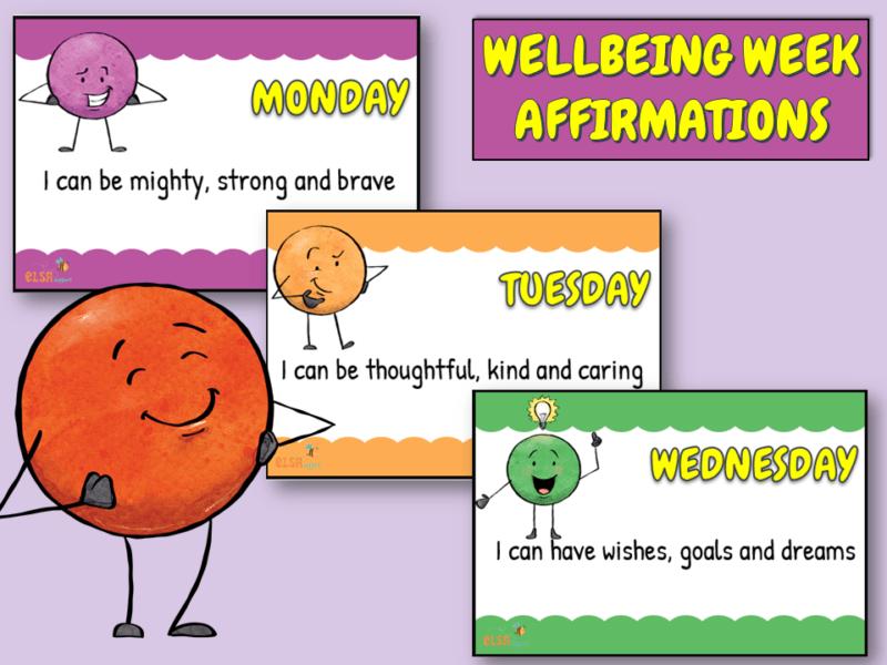 Wellbeing week affirmations