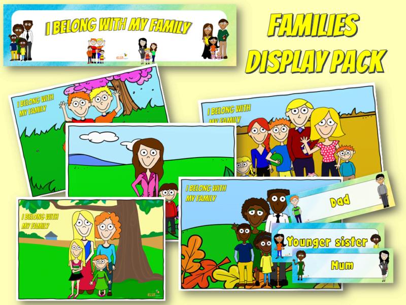 families display pack